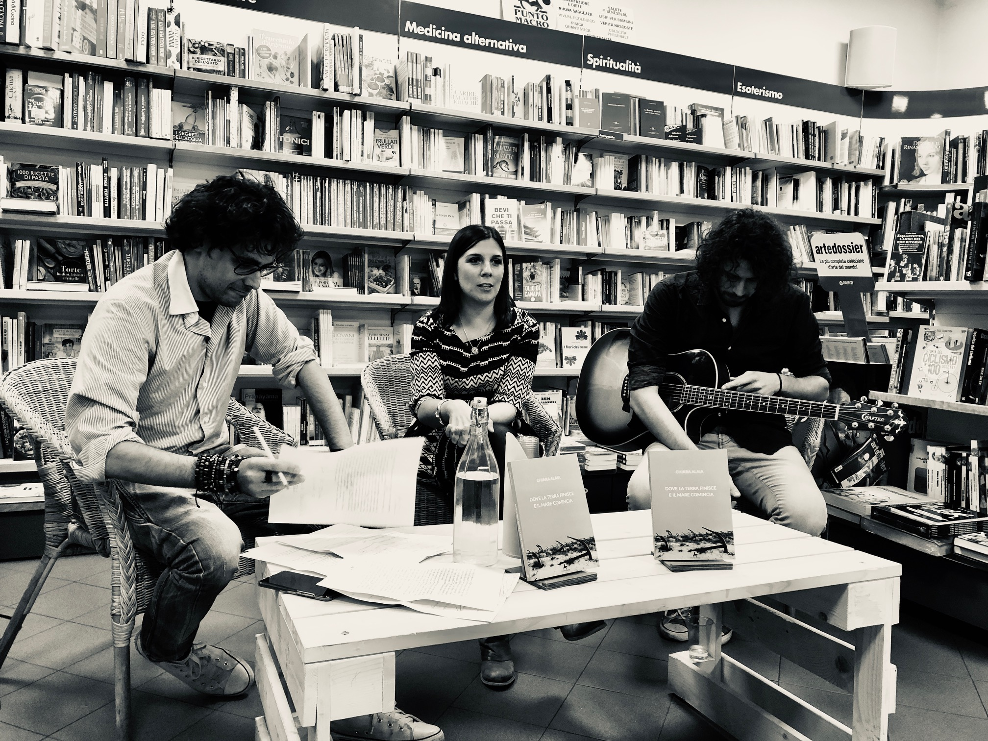 Chiara Alaia alla Libreria Ubik Irnerio